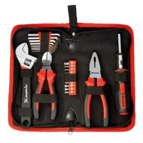Комплект Инструменти за Дома и Колата - 22 части в несесер